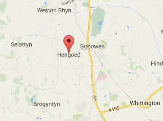 Window, Conservatory & Gutter Cleaning Hengoed Map